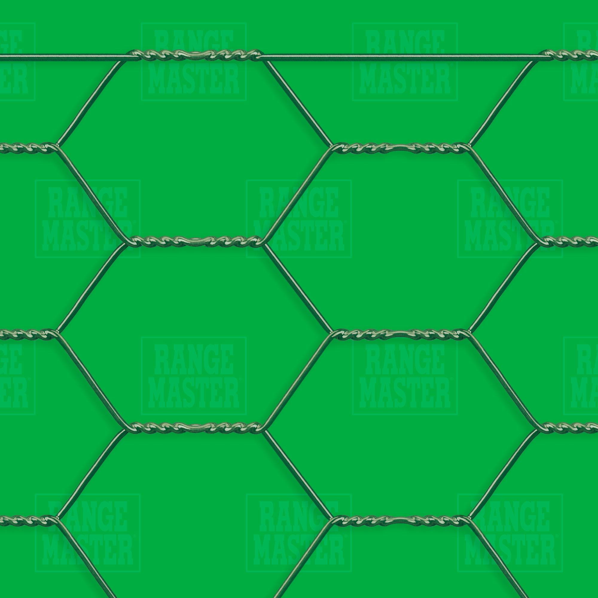 Plastic Coated Hexagonal Netting